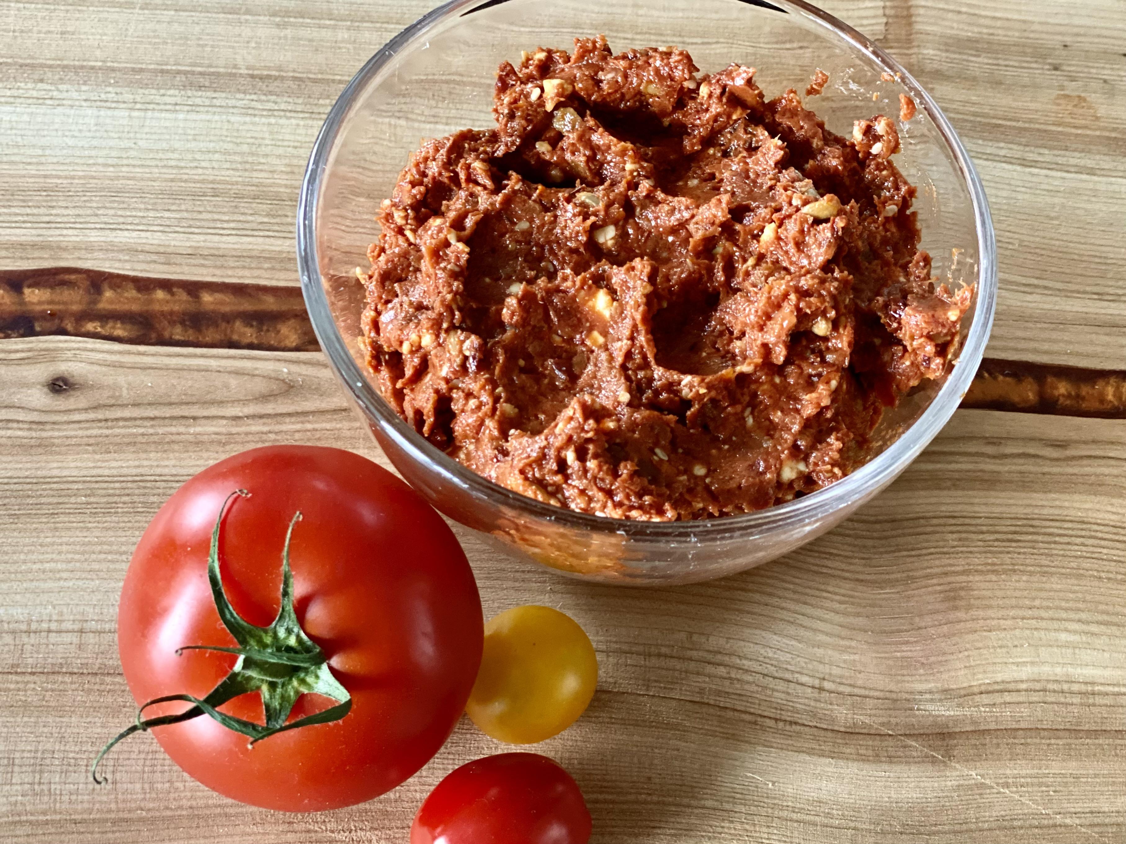 Würziges Tomatenmett